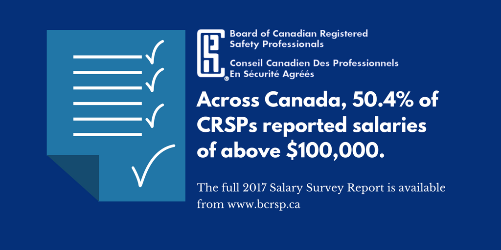 2017 Salary Survey Report | Board of Canadian Registered Safety