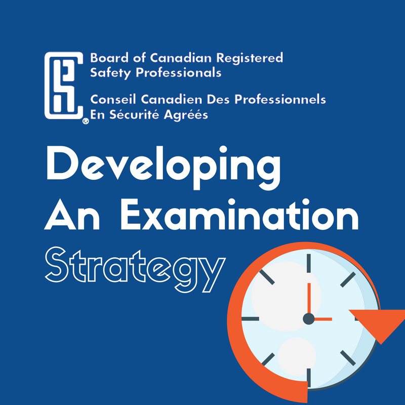 Developing An Examination Strategy Board Of Canadian Registered